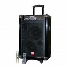 NUTEK*BLUETOOTH*Rechargeable Battery POWERED PORTABLE Sound System*DJ PA SPEAKER