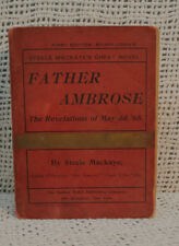 rare antique old FATHER AMBROSE THE REVELATIONS OF MAY 3D,'68 STEELE MACKAYE