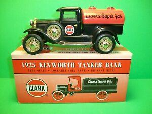 ERTL ~ 1925 Kenworth Tanker Bank ~ Clark's Super Gas ~ With Original Box