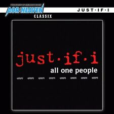 JUST-IF-I - All One People / New CD 1993/2012 Remastered / Hard Rock / Mike Reno