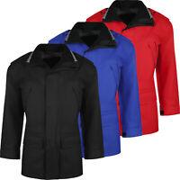 New Mens Raincoat Waterproof Fine Tex Windproof Hooded Breathable Outdoor Jacket