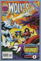 Wolverine #104 1996 Onslaught [Elektra Appearance] Larry Hama Val Semeiks mE