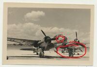 Südraum Italien ? Afrika ? deutsches Flugzeug Bomber JU 88 Staffelwappen ME 109