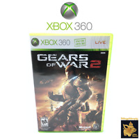 Gears of War 2 Xbox 360 Video Game  (2008)  Case Manual Disc Tested Works A+
