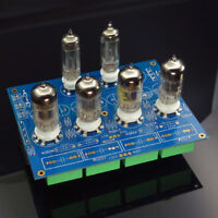DIY Hifi 12AU7+12AX7 Tube preamplifier board / stereo Tube preamp kit      L13-1