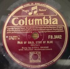 Cyril Shane - Hair Of Gold, Eyes Of Blue - Columbia FB.3442 - UK