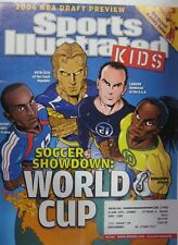 July 2006 Landon Donovan, Ronaldinho, Petr Cech Sports Illustrated For Kids