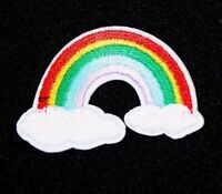 Rainbow Patch Embroidered Iron Sew On Applique Badge Motif