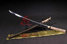 battle ready 9260spring steel blade Full tang jp katana sword Shobu Zukuri sharp