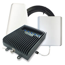 SureCall Fusion5s Home Cell Phone Signal Booster w/ Yagi and Panel Antennas