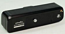 Vintage Minolta Auto Winder D, VGC, Powers Up, Not Camera Tested.