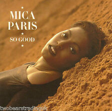 MICA PARIS - So Good (UK 10 Track 1988 CD Album)