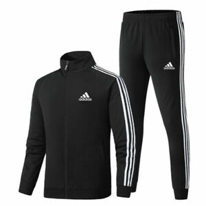 2021 AU Mens Adidas Tracksuit Suit Pants Track Jacket Top S-3XL