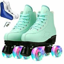 New listing Roller Skates for Women Men Adults Teens Kids Beginners Candy Color Dynamic S...