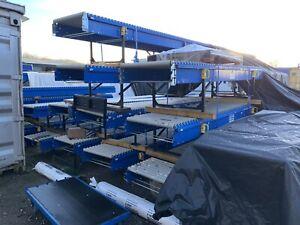 Conveyor Slave Roller Units, Parcel Conveyors Not Motorised