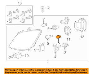 Mercedes MERCEDES-BENZ OEM 14-15 Sprinter 2500-Exterior Bulb 000000008099