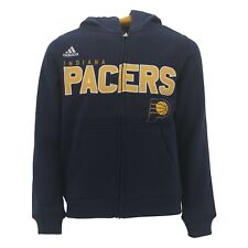 Indiana Pacers Kids Youth Size Official NBA Adidas Sweatshirt New With Tags