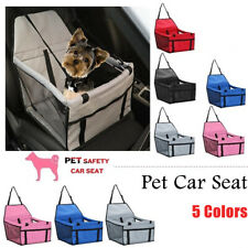Dogs Car Seat Belt Booster Travel Carrier Folding Bag for Pet Cat Puppy Portable