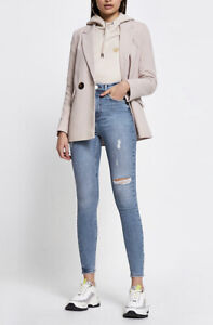 January Sale River Island Bum Sculpting High Rise Skinny Jeans 8r