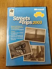Microsoft Streets and Trips 2003 Windows PC