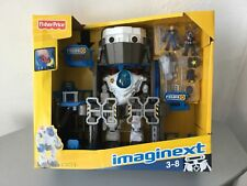 2002#VINTAGE Fisher-Price Imaginext Robot Police Headquarters PLAYSET#NOC