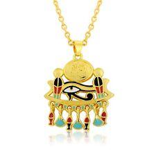Egyptian Ankh Pendant Cross Pyramid Evil Eye Of Horus Egyptian Necklace