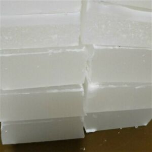 250g/500g Paraffina Cera Blocco Basso Olio Mano Candela Fare Materiale Bianco
