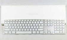 Genuine Apple Wired Keyboard Aluminum w/ Numeric Keypad Apple Box MB110LL/B!