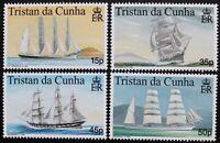 Maritime heritage, 1st series stamps 1998, Tristan da Cunha, SG ref: 643-646 MNH