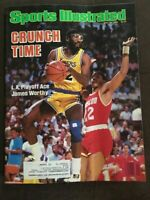 JAMES WORTHY - SPORTS ILLUSTRATED - MAY 19, 1986