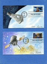 Sc #4527-8 Shepard & Messenger Fisher Cachet HD & Hand Paint First Day Cover