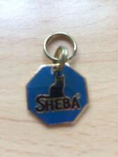 Sheba BlueCat Collar Metal Tag Collectible NEW