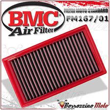 FILTRO DE AIRE BMC DEPORTIVO LAVABLE FM167/01 GILERA NEXUS 500 2009 2010 2011