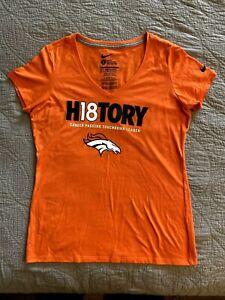 Nike Denver Broncos Peyton Manning History 18 Men's Shirt Large NEW