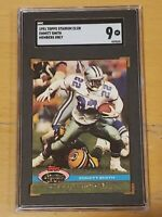 1991 Stadium Club Members Only SGC 9 Emmitt Smith Newly Graded