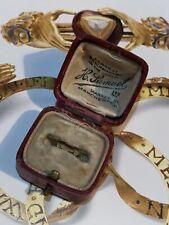 Antique Victorian Ring Box H Samuel Manchester Georgian