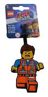 LEGO Movie 2 Emmet Bag Tag Gepäckanhänger Reise Kofferanhänger Namensschlid Neu