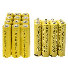 12 AA 2800mAh + 12 AAA 1800mAh battery Bulk Nickel Cadmium Rechargeable 1.2V Yel