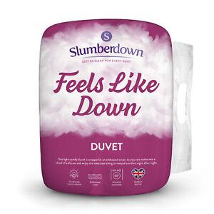 Slumberdown Feels Like Down Non-Allergenic Hollowfibre Duvet