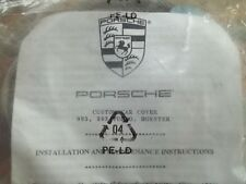 Porsche 911  993, 993 Turbo, Boxster  OEM Car Cover Locking Kit