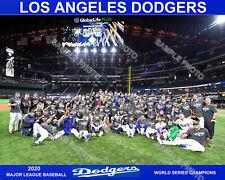 LOS ANGELES DODGERS 2020 WORLD SERIES CHAMPIONS 8X10 PHOTO