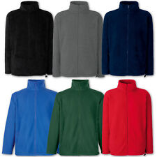 Fruit of the Loom Fleecejacke Herren Jacke Fleece Sweatjacke Gr. S M L XL XXL