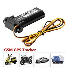 Motorcycle Car Vehicle GSM GPS Tracker Locator Global Real Time Tracking Device