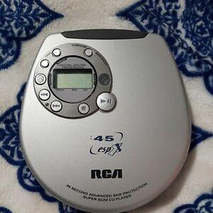 RCA RP2375 Slim-Design Portable CD Player vintage