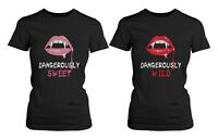 Best Friend Shirts - Dangerously Sweet and Wild BFF T-Shirts for Halloween