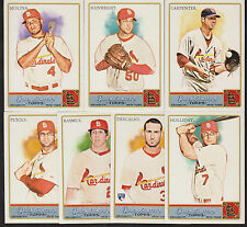 2011 CARDINALS 35 Card Lot w TOPPS ALLEN GINTER Team Set 25 WORLD SERIES PLAYERS