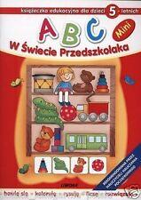 ABC W SWIECIE PRZEDSZKOLAKA MINI DLA DZIECI 5 LETNICH *24h dla dzieci *JBOOK