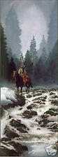 High Mountain Cascade by Mark Silversmith Western Native American SN LE Litho