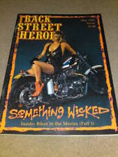 BACK STREET HEROES # 61 - BIKES IN THE MOVIES pt1 - May 1989