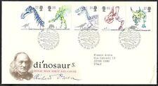 1991 GB FDC DINOSAURS - 003